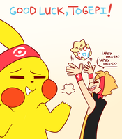 EVENT: GOOD LUCK, TOGEPI! by relyon