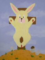 Bunny died for your tasty sins by diamondie