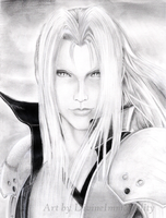 FF7: Sephiroth by DivineImmortality