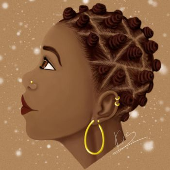 Ebony Beauty Do Over by KiraTheArtist