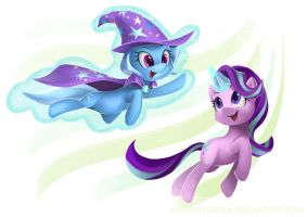 The Great and Powerful Duo by imDRUNKonTEA