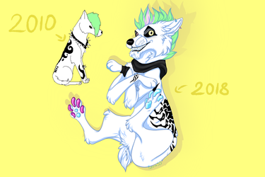 2010 vs 2018 by Futrass