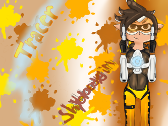 Inkling Tracer ~ by shybloodygirl