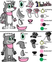 Duskette Reference Sheet by Duskario64