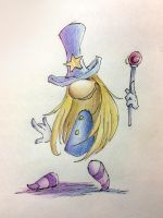 The old Magician by HR-OnlyReadTheHRpart