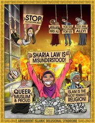 Abhorrent Islamic Delusional Syndrome by brentcherry