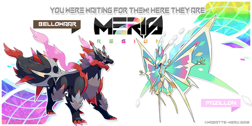 Meris Region Legendaries by Wabatte-Meru