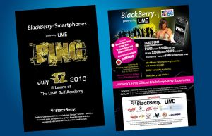 PING Party Flyer by owdesigns