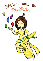 Smite - Balance will be restored (Chibi) by Zennore