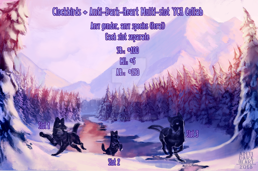 Winter Pond Collab YCH Auction - CLOSED by Anti-Dark-Heart