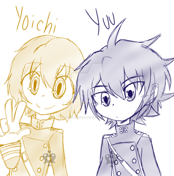 Yoichi And Yuu by sakaruchibi