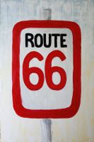 route 66 by shesasheep
