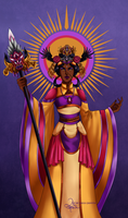 [Eldarya] Empress Makaria by Chesis-Griffith