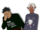 Pavellan ugly Christmas sweater edition by Lolalalady