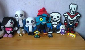 Undertale Collection - handmade goodies by Pikanessy