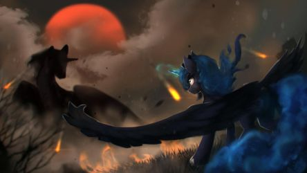 Omen Of The Cursed Moon by Blackligerth