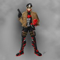 Red Hood Concept Art 2 by joeybowsergraphics