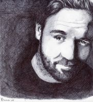 Russell Crowe - Portrait by fabri360