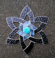 Stained Glass Celtic Star by CeltCraft