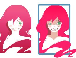 Red Hair by Deve-Kun