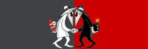 Spy vs Spy Wall Paper by Zarious