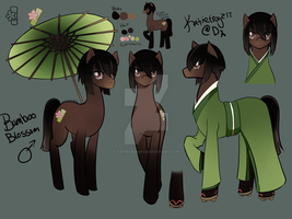Bamboo Blossom Character Sheet by Katiefrog217
