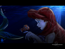 Ariel meets Nemo by Fairloke