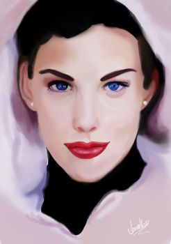 Liv Tyler practice by IanaAlves