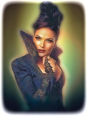 Lana Parilla as 'The Evil Queen' in OUAT by petnick
