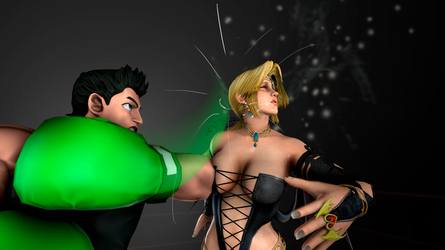 Helena gets pummeled (Remake) by anotherpunisher