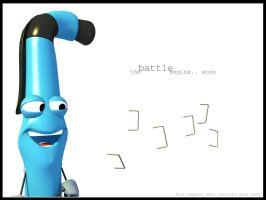 First Character for Animation by DuffMan256