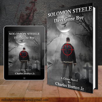 Book Cover Design for Solomon Steele by MiloshJevremovic