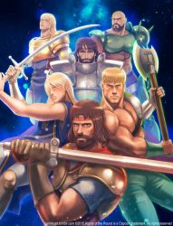 Capcom Fighting Tribute Knights of the Round by jaimito