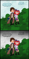 TnM: Under an Umbrella by Jamiisol2000