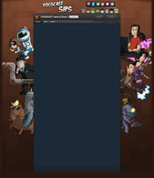 YogscastSips Youtube Background by Teutron