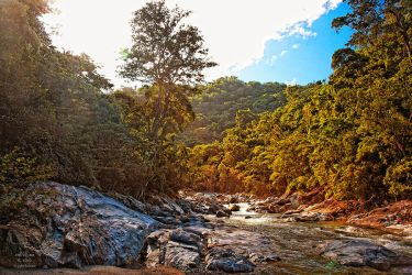 Honduran Waterfall 5689 by FrancoisDeWynter