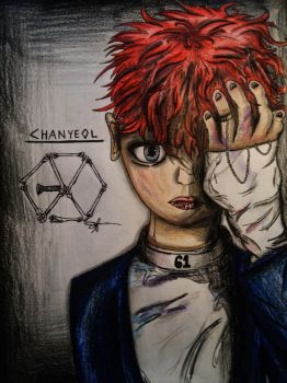 EXO Monster Chanyeol by Cre8iveWing