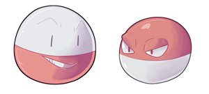 Daily Pokemon #9+#10: Voltorb and Electrode!