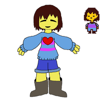 Frisk by Mikefrightmare