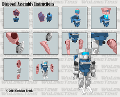MiniBot - Disposal Assembly Guide by wulongti