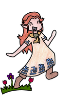 Malon Skipping by Sm-ArtThings