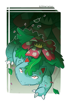 Venusaur by Lightcall-Skeleton