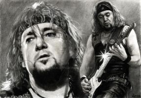 Adrian Smith - IRON MAIDEN by akaLilith
