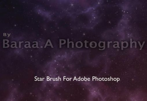 Stars Brushes by Baraa.A Photography by 8aq2