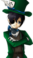 Ciel Phantomhive: Madhatter by pikadiana