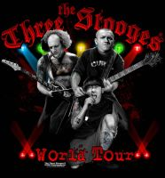 three stooges world tour by hardnox757