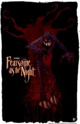 Fearsome as the night Print by JeremyTreece