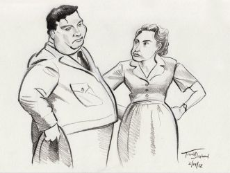 The Honeymooners by Hungry-Porkins