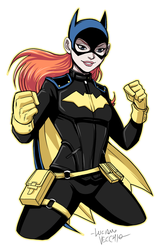 Batgirl Repaint by LucianoVecchio