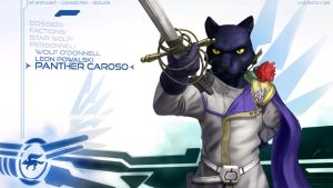 Panther Caroso Wallpaper by JECBrush